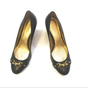 Coach Hester wedge pumps Sz 9B